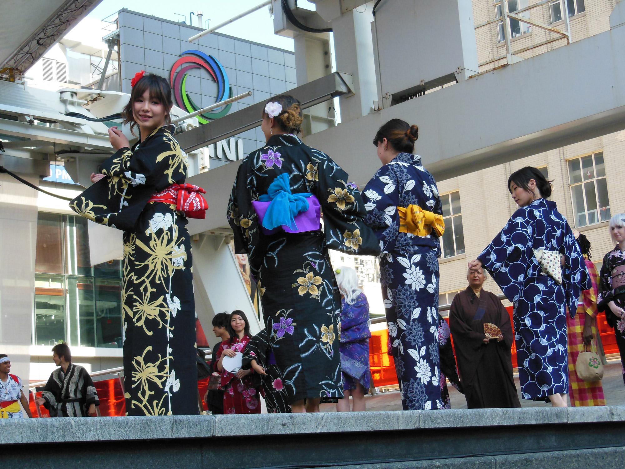 Yukata Fashion Show by Toronto Kimono Club