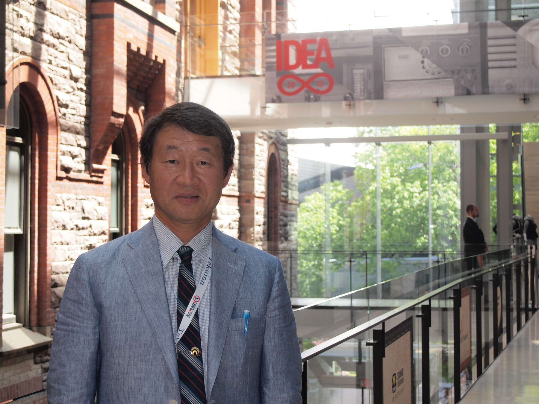 Shin Kubota spoke to a large audience at ideacity in Toronto about life and potential immortality.