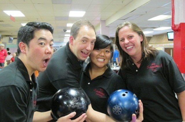 The Momiji Bowlathon continued to grow in its fifth year with 192 bowlers and a ercord set in funds raised. Photo: Jan Nobuto