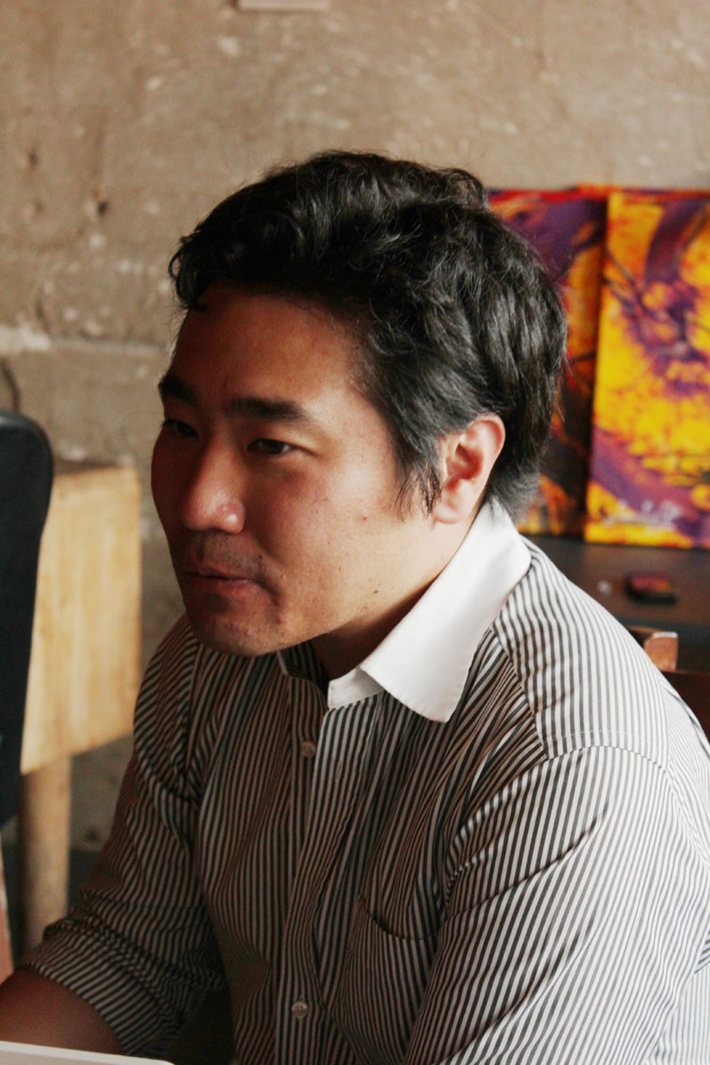 Hiro Sudo is a manager of the Creators' Lounge. Photo Courtesy: Kaori Fujishima