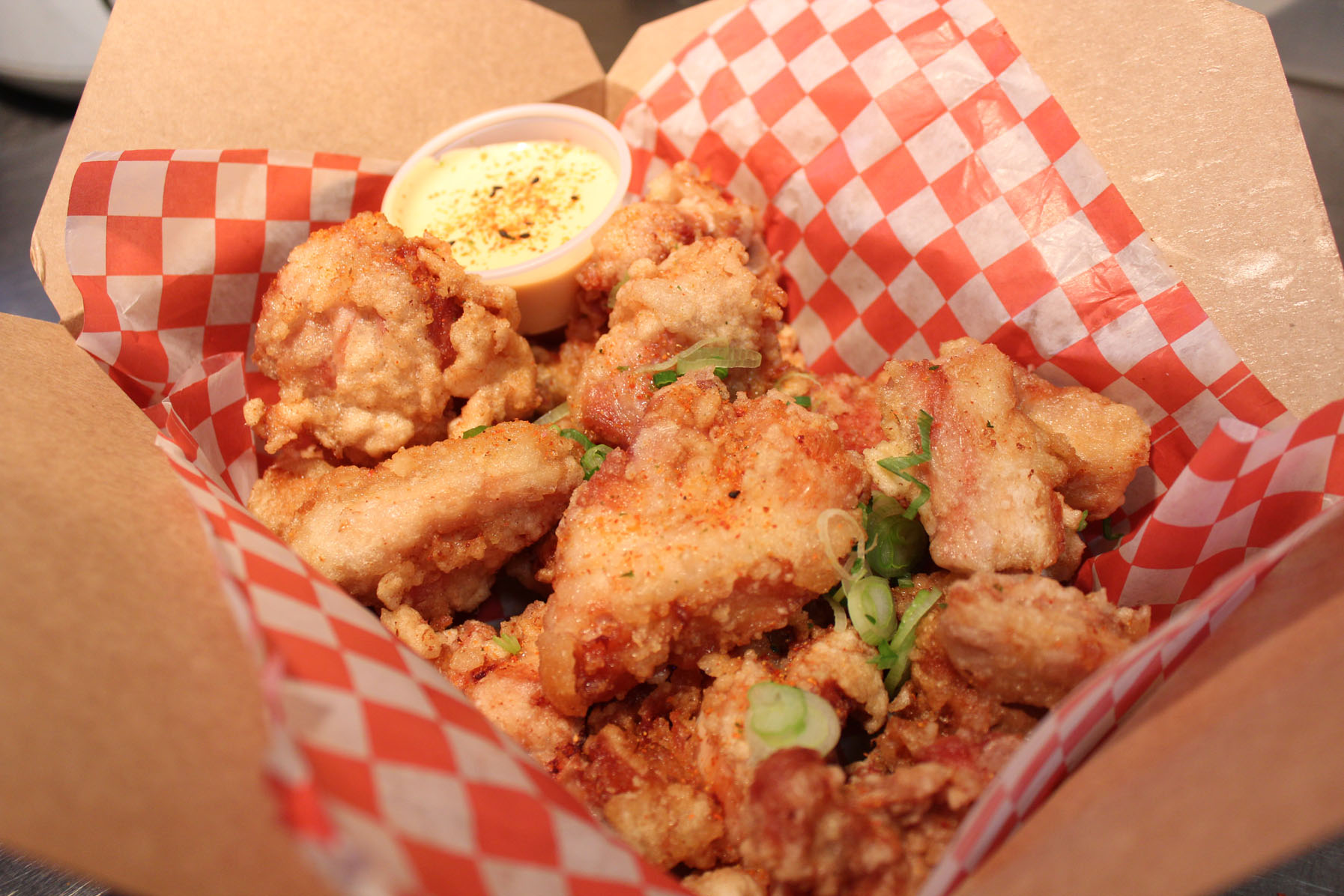 Gushi's karaage chicken box