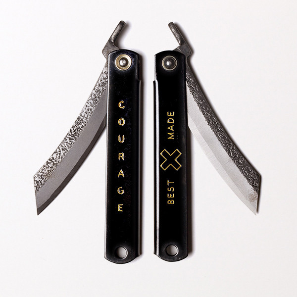 Japanese Higo Knife $65, Photo courtesy: Miyamoto Manufacturing Co., available at: http://www.bestmadeco.com/products/japanese-folding-knife