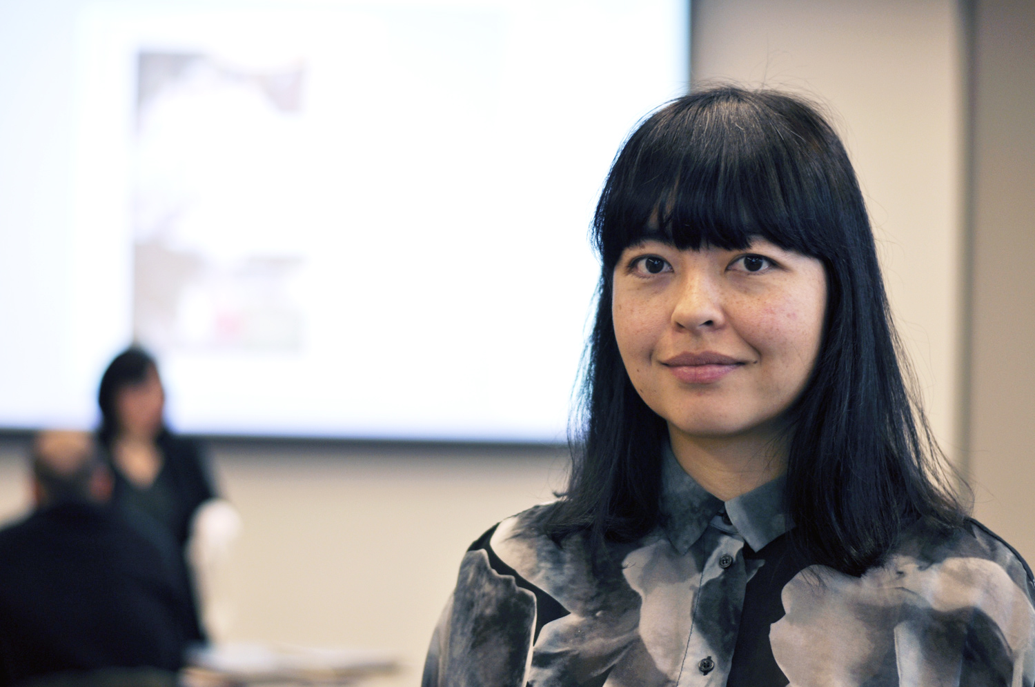 """""""it puts the individual in the social context. Somehow being engaged with friends and the environment, and the clothes that they are wearing and the type of activities they were doing talk a bit more about the social fabric than just one's individual perspective in a diary. It helps to anchor people in the ordinary,"""" Nguyen said at the scanning workshop on January 18th."""
