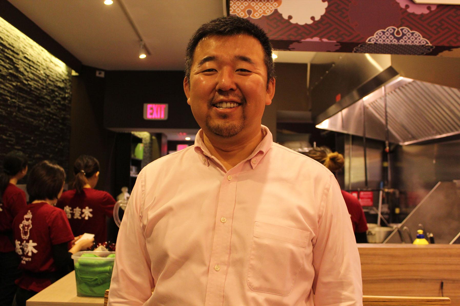 Zuimei Okuyma, the owner [Photo courtesy: Kaori Fujishima]