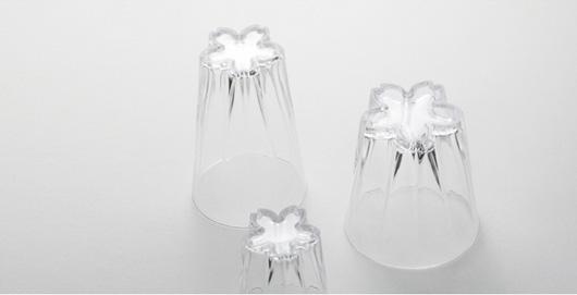 SAKURASAKU glass upside down Images provided by Cubeshops