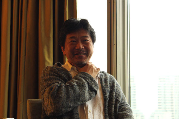 A photo of Hirokazu Kore-Eda taken during his stay in Toronto for the premier of his film. Photo courtesy: Kaori Fujishima